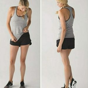 "Lululemon Speed Short 4-way Stretch 2.5"" Black 6"
